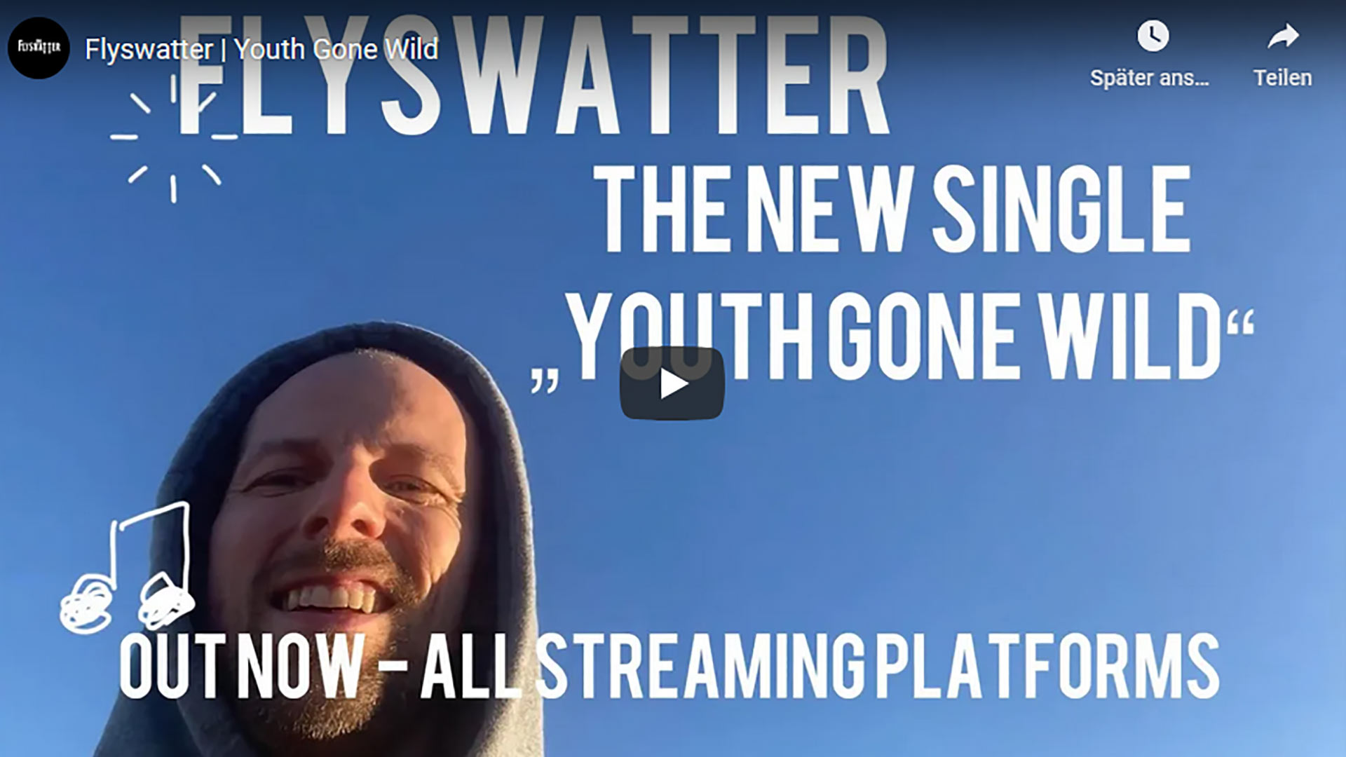 "Flyswatter ""Youth gone-wild"" Musikvideo Previewbild"