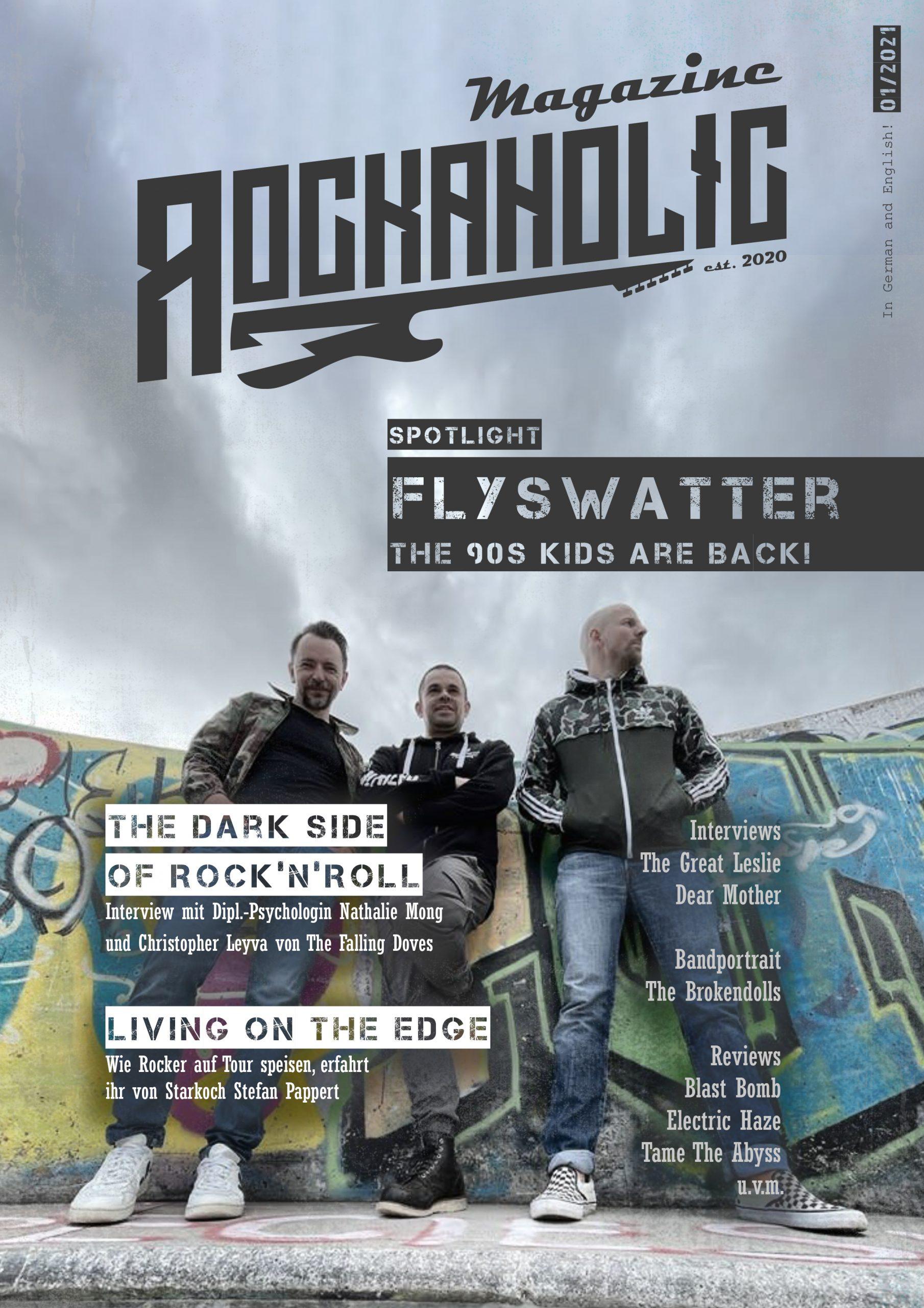 Rockaholic Magazine - Issue 01/2021